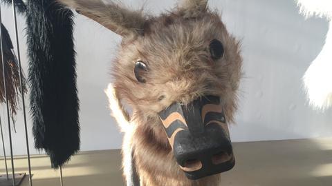 Masken des kanadischen Künstlers Beau Dick