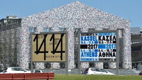 documenta Plakat Parthenon