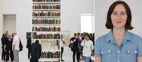"""Das """"Rose Vallant Institute"""" in der Neuen Galerie - documenta-Künstlerin Maria Eichhorn"""