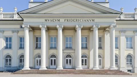 Fridericianum Kassel  von außen