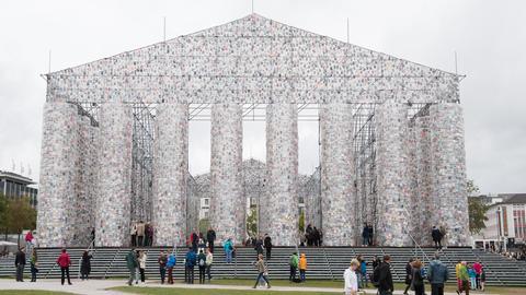 Parthenon der Bücher - fertig