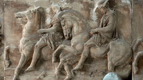Relief Reiter Athen