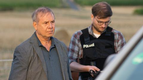 Dokudrama zum Lübcke-Mord: Schauspieler Joachim Król ist der Ermittler Norbert Bartels.
