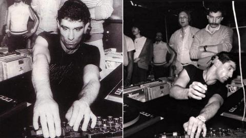 DJ Bijan Blum legte am ersten Abend im Dorian Gray auf