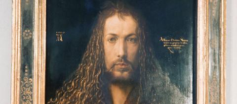 "Albrecht Dürers ""Selbstbildnis im Pelzrock"""