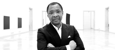 Okwui Enwezor im Haus der Kunst in München