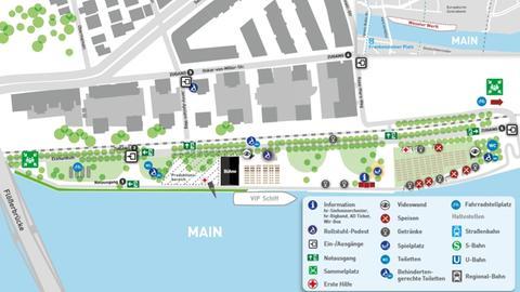 Lageplan Europa Open Air