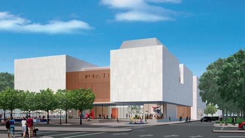 Entwurf für das Ernst-Museum in Wiesbaden