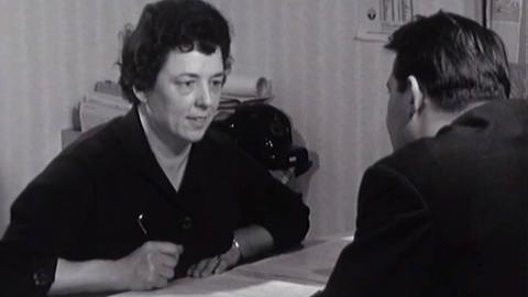 Liesel Schaumlöffel, erste hessische Bürgermeisterin, in einem Archiv-Beitrag