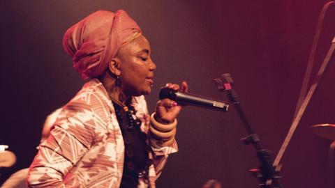 Sängerin Yvonne Mwale