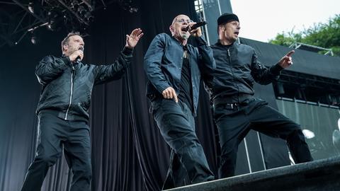Live-Auftritt der Fantastischen Vier