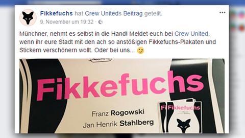 Fikkefuchs-Aktion auf Facebook