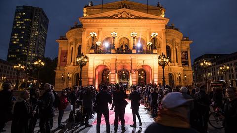Verleihung des Hessischen Film- und Kinopreises in der Alten Oper in Frankfurt