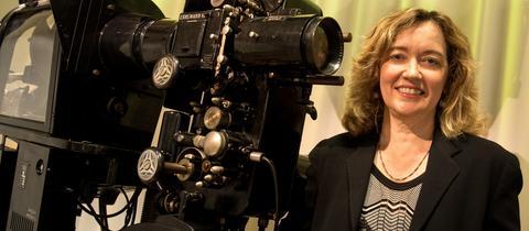 Die neue Chefin des Frankfurter Filmmuseums Ellen M. Harrington