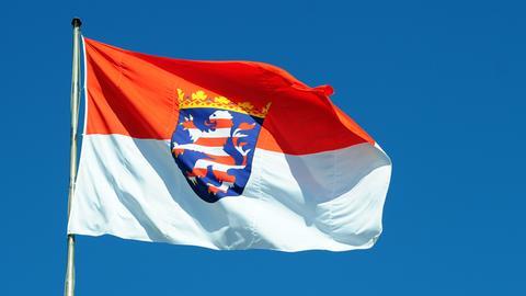 Hessische Flagge