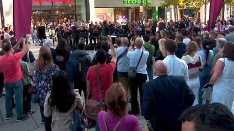 Flashmob Sinfonieorchester
