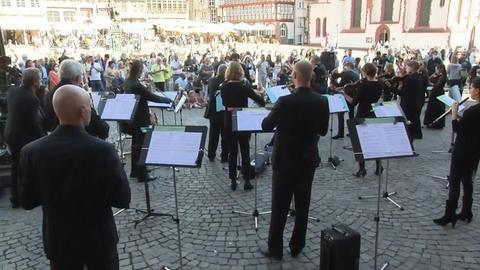 Flashmob hr-Sinfonieorchester
