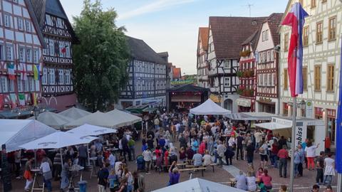 Impression vom Folk-Festival in Grünberg