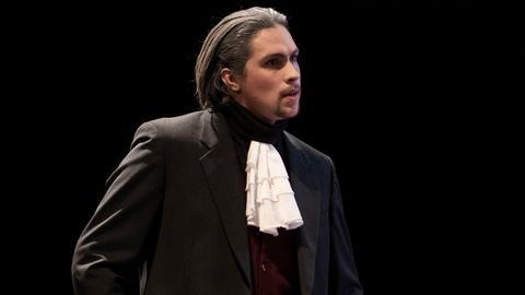 Jonathan Lutz auf der Bühne