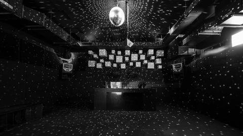 Tanzfläche im Club Silbergold, Frankfurt.