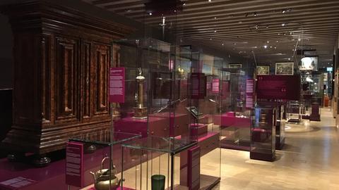 """Historisches Museum Frankfurt, Bereich """"Frankfurt einst?"""""""