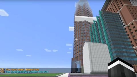 Frankfurt in Minecraft
