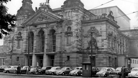 Schauspielhaus Frankfurt 1957