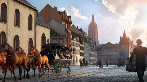Kutschfahrt durch das alte Frankfurt