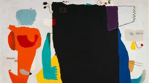 "Willi Baumeister ""Phantom mit roter Figur"" (1953)"