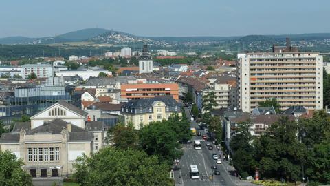 Gießen Stadtpanorama