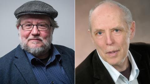 Claus-Jürgen Göpfert und Bernd Messinger (v.l.)