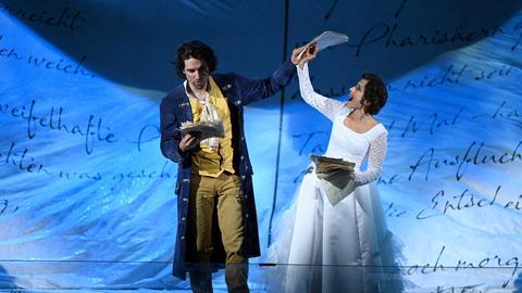 """Szene aus dem Musical """"Goethe!"""""""