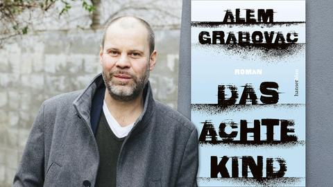 """Alem Grabovac und das Buchcover: """"Das achte Kind"""""""