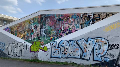 Graffiti-Kunst in Kassel