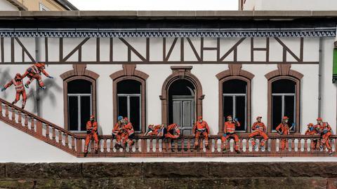 Graffiti Jaune Bad Vilbel