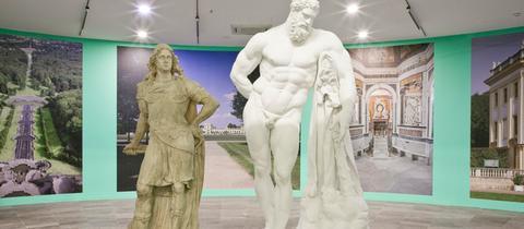Statuen von Landgraf Carl von Hessen-Kassel und dem Herkules