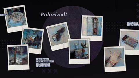 Collage mit Screenshots des Spiels