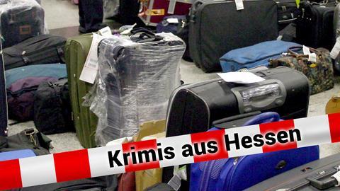 Verloren gegangenes Gepäck im Flughafen