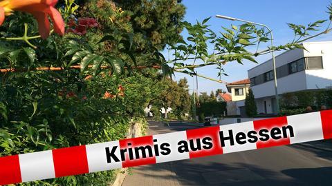 Eine stille Straße im Hanauer Stadtteil Hohe Tanne
