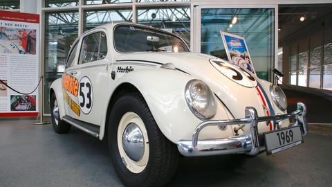 VW-Käfer Herbie mit der Nummer 53