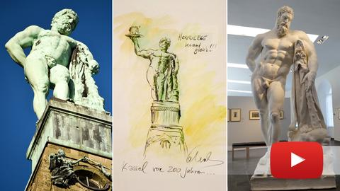 Herkules-Collage