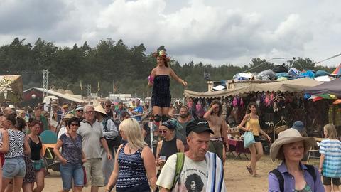Besucher beim Herzberg Festival
