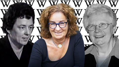 Collage: Elisabeth Schaumlöffel, Adrienne Schneider und Lilo Günzler