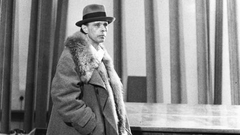 Joseph Beuys im Hessischen Landesmuseum Darmstadt, 1971