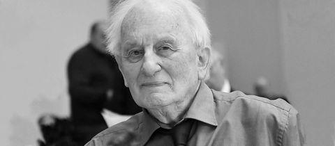 Portrait des Dramatikers Rolf Hochhuth.