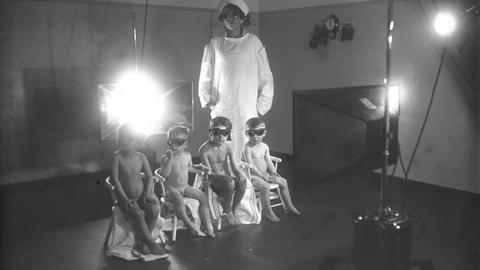Lichttherapie mit Höhensonne für Kinder