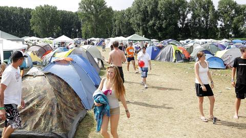 Zeltplatz beim Trebur Open Air