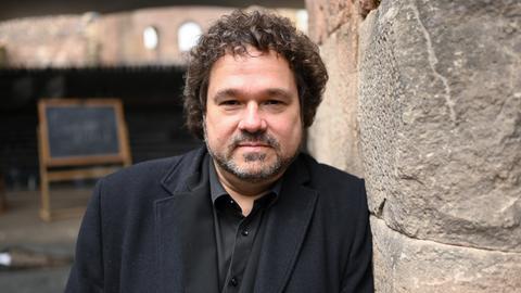 Der Intendant der Bad Hersfelder Festspiele, Joern Hinkel