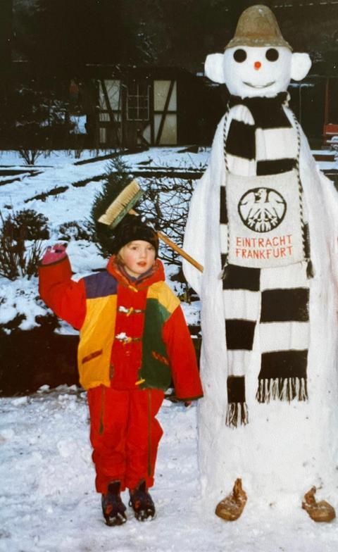 Jula Reichard ist Eintracht-Fan