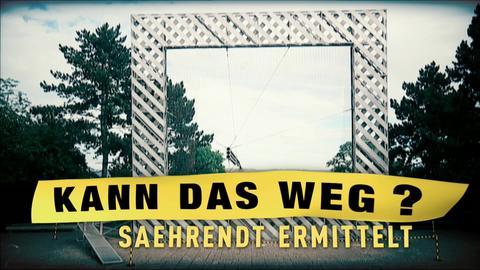 """Rahmenbau"" am Friedrichsplatz in Kassel"